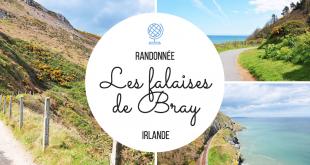 Les falaises de Bray en Irlande