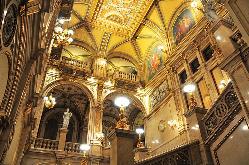 visite de l'opéra de vienne